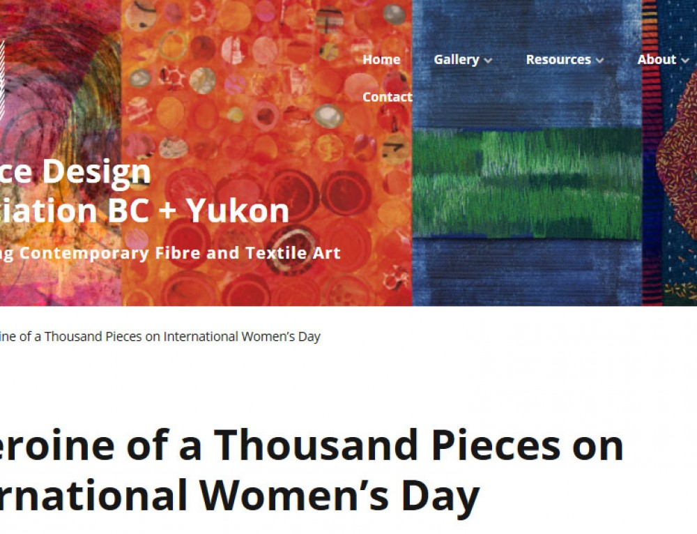 A Heroine of a Thousand Pieces on International Women's Day