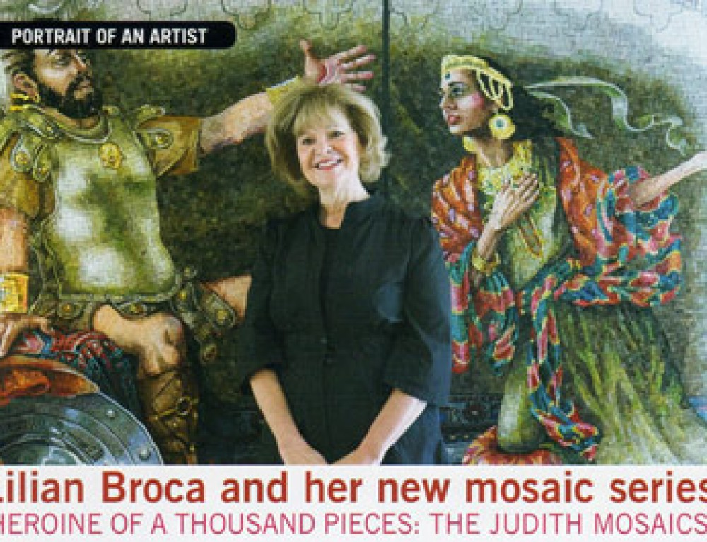 Lilian Broca featured on Senior Line Magazine